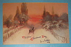 Christmas Day Postcard with View of a Winter Day (Image1)