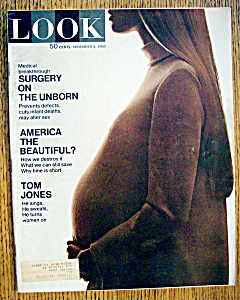Look Magazine-november 4, 1969-surgery On Unborn
