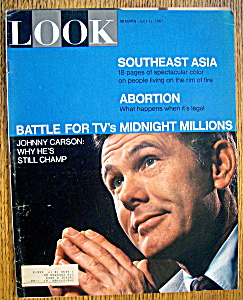 Look Magazine-July 11, 1967-Johnny Carson (Image1)