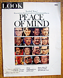 Look Magazine-July 27, 1971-Peace Of Mind (Image1)