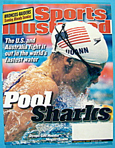 Sports Illustrated Magazine-September 25, 2000-Pool (Image1)
