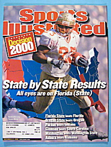 Sports Illustrated Magazine-November 27, 2000-Fla State (Image1)