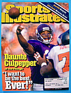 Sports Illustrated Magazine-December 1, 2000-Culpepper (Image1)