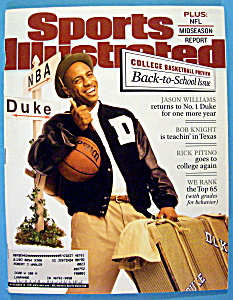 Sports Illustrated Magazine-Nov 19, 2001-J. Williams (Image1)