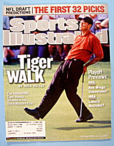 Sports Illustrated Magazine-April 22, 2002-Tiger Woods (Image1)