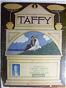 Sheet Music For 1908 Taffy