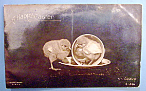 A Happy Easter Postcard with Chick In A Cup (Image1)