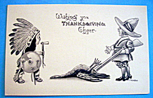 Thanksgiving Cheer Postcard (Image1)