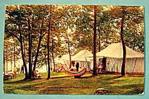 YMCA Camp, Lake Geneva, Wisconsin Postcard (Image1)
