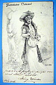 Frohliche Ostern Postcard (Image1)