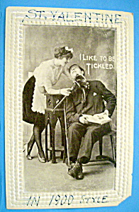 I Like To Be Tickled Postcard (Image1)