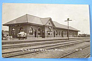 G.N. Depot, Minnesota Postcard (Image1)