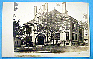 Vintage Postcard Of Two Story Building (Image1)