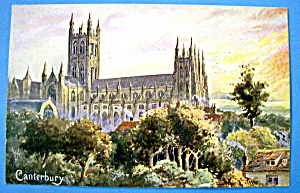 Canterbury Cathedral Postcard (Image1)