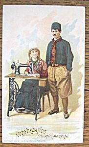 Netherlands (Singer Trade Card) (Image1)