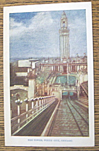 The Tower, White City, Chicago Postcard (Image1)