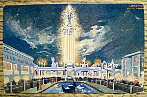 Electric Tower, White City, Chicago Postcard (Image1)