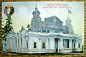Canadian Government Building Postcard (Image1)