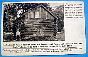 16th Annual Reunion Of Settlers & Pioneers Postcard