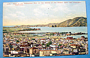 The Golden Gate, Panama Pacific Exposition Postcard (Image1)