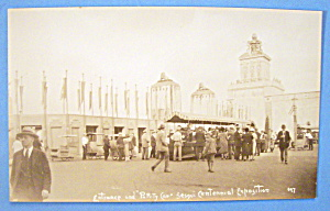 Entrance & Party Car, Sesqui Centennial Exposition Card (Image1)