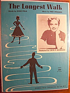 Sheet Music For 1955 The Longest Walk