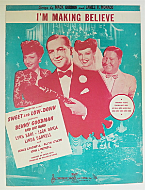 Sheet Music For 1950 La Vie En Rose (La Vee On Rose) (Image1)