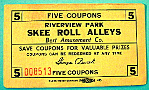 Riverview Park Coupon - Skee Roll Alleys