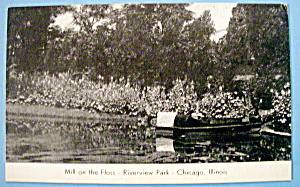 Mill On The Floss - Riverview Park Picture Postcard (Image1)