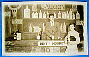 Saloon Picture Postcard-Riverview Park-Chicago (Image1)