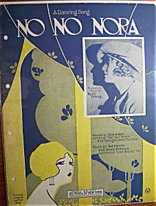 1923 No No Nora By Ted Fiorito & Ernie Erdman (Image1)