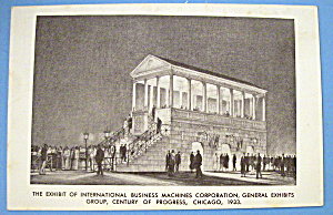 General Exhibits Postcard (Chicago World's Fair)