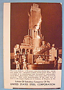 1933 Century Of Progress, U.s. Steel Co. Brochure