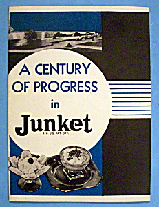 1933 Century Of Progress, Junket Brochure