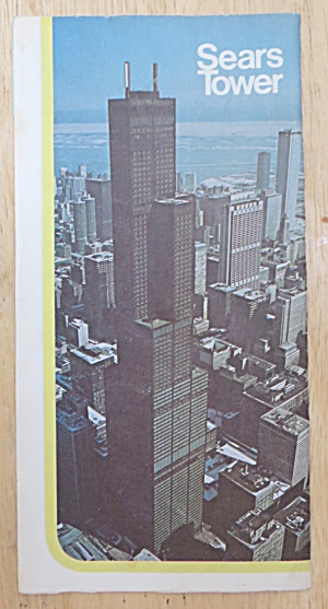 1975 Sears Tower Brochure Chicago, Illinois  (Image1)