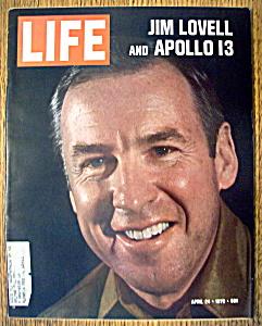 Life Magazine-April 24, 1970-Jim Lovell & Apollo 13 (Image1)