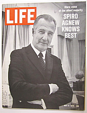 Life Magazine May 8, 1970 Spiro Agnew Knows Best  (Image1)