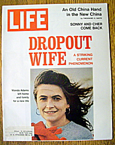 Life Magazine March 17, 1972 Dropout Wife