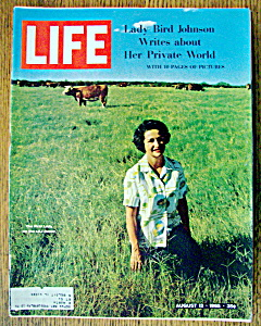 Life Magazine August 13, 1965 Lady Bird Johnson (Image1)