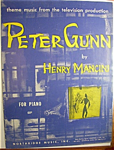 Sheet Music For 1959 Peter Gunn