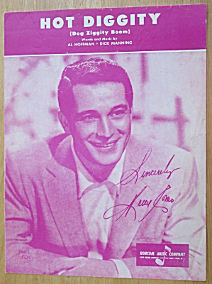 Sheet Music For 1954 My Friend