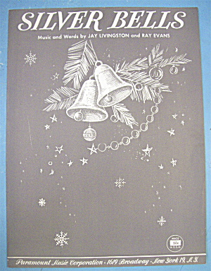 Sheet Music For 1950 Silver Bells By Livingston & Evans