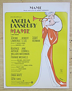 Sheet Music For 1966 Mamie