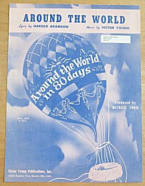 1956 Around The World Sheet Music  (Image1)
