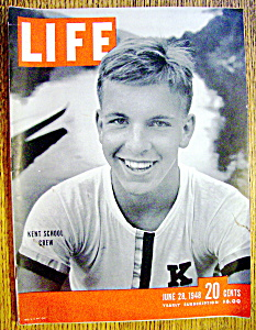Life Magazine-june 28, 1948-kent School Crew