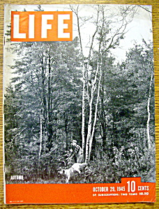 Life Magazine-october 29, 1945-autumn
