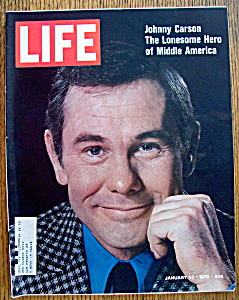 Life Magazine-january 23,1970-johnny Carson