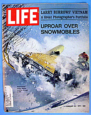 Life Magazine-February 26, 1971-Uproar Over Snowmobiles (Image1)
