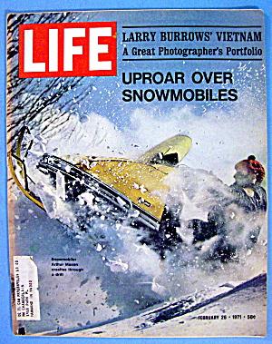 Life Magazine-February 26, 1971-Uproar Over Snowmobiles (Image1)