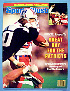 Sports Illustrated Magazine-January 13, 1986-Patriots (Image1)